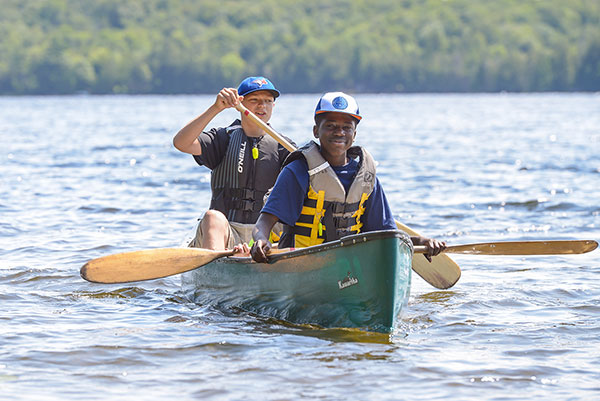 Camper & Counsellor Canoeing