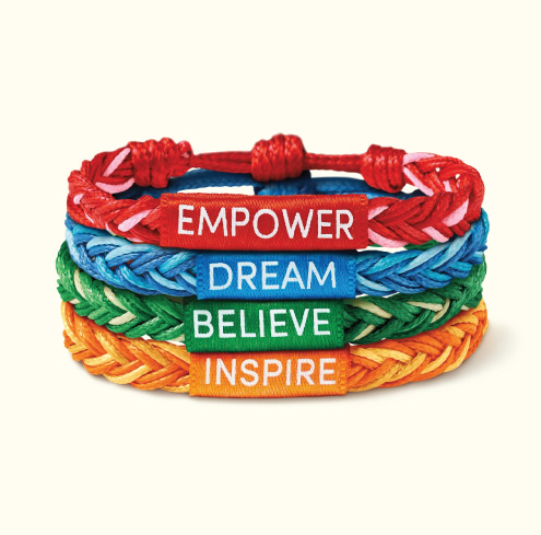 Tim Hortons Camp Day Bracelet
