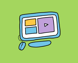 camp-on-demand computer illustration