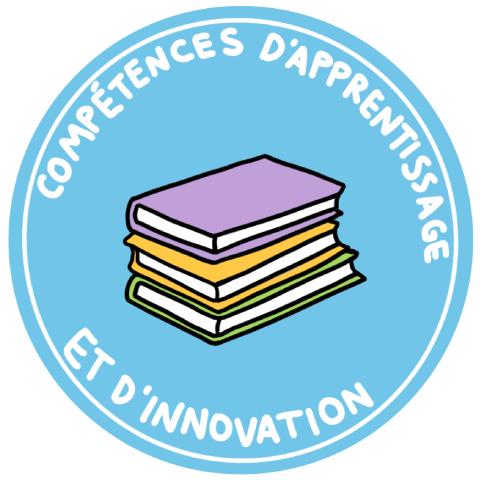 Icon du compétences d'apprentissage et d'innovation